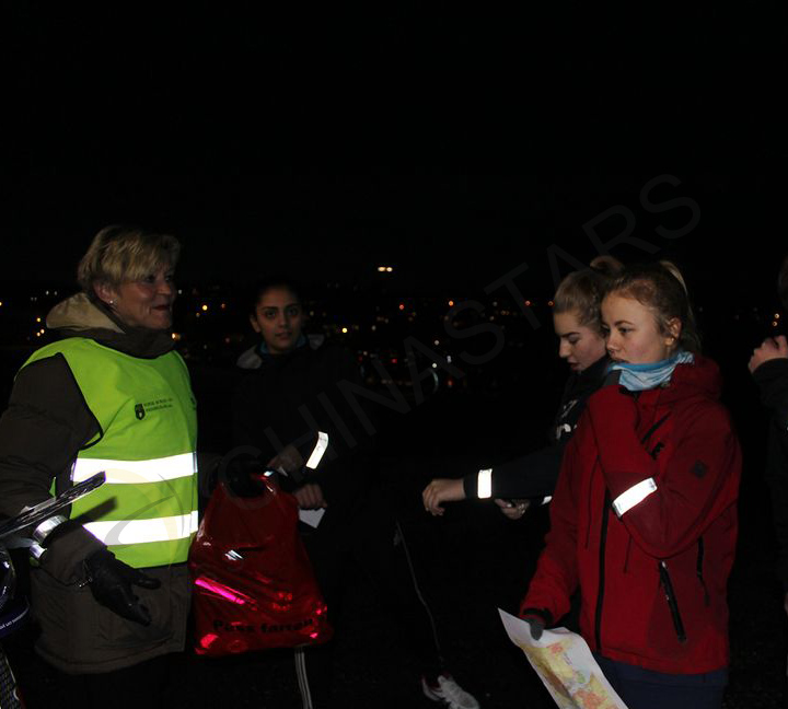 Reflective clothing to help you night riding safer