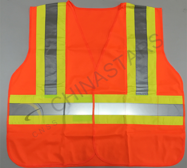 The consciousness of using reflective vest needs to be enhanced