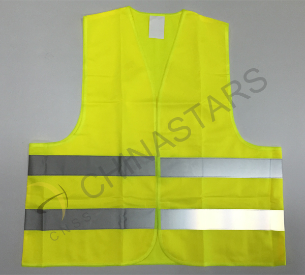 Reflective vest in Halloween for children safety