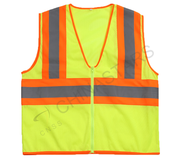 Safety vest from a 13 year-old boy