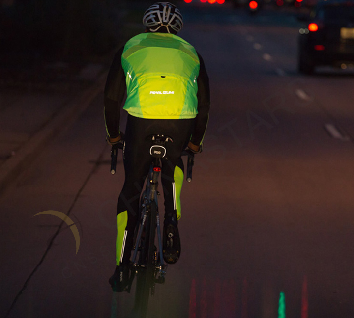 Riding safer with your reflective vest