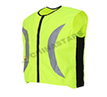 Running freely with safety clothing