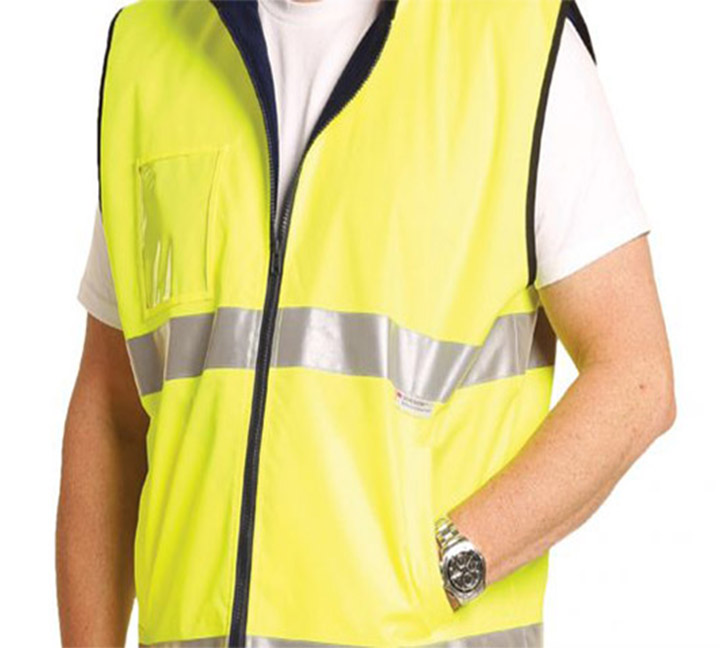 Reflective fabric with occupational clothing