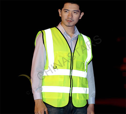 Safety vest necessary for preventing accidents