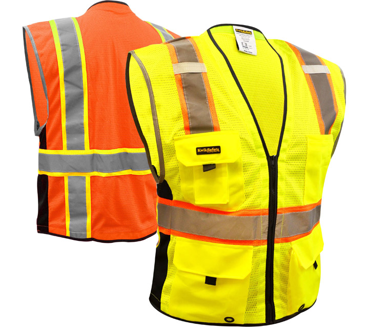 Utilizing the ANSI Class 3 safety vest for Inclement Weather