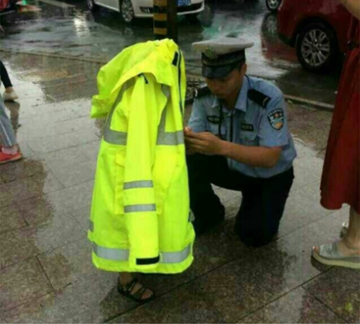 A warmhearted reflective uniform